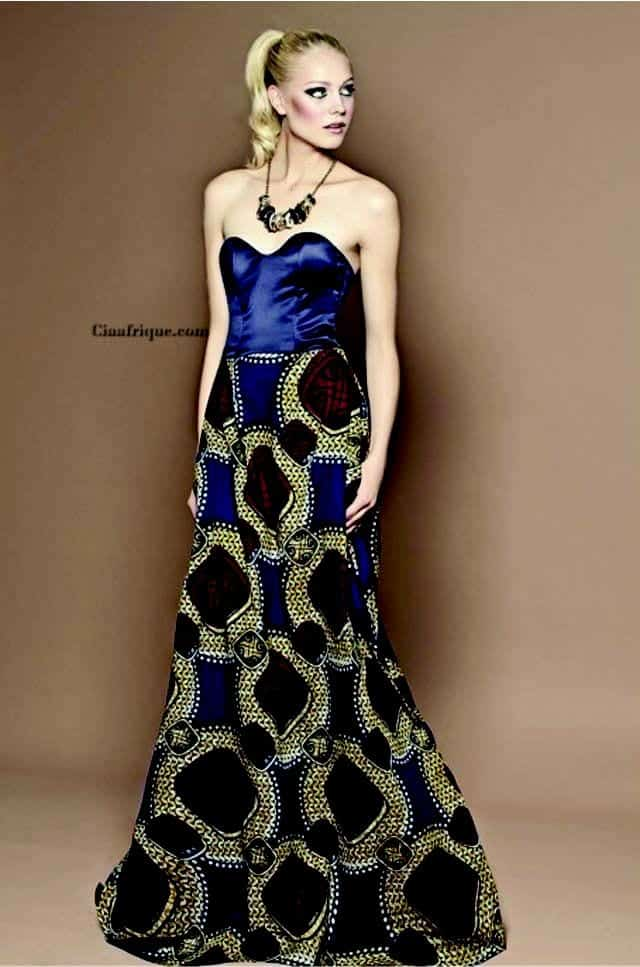 wedding Kitenge Dresses for Young Girls-18 Cute Kitenge Ankara Dress