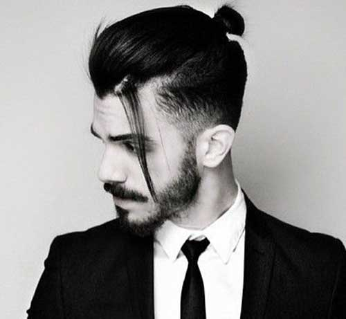 with-disconnected-hairstyle Patchy Beard Styles- 40 Best Patchy Facial Hairstyling Ideas