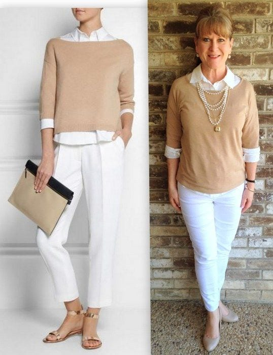 work-outfit Casual Outfit Ideas for Women Over 60-How to Dress in Your 60s