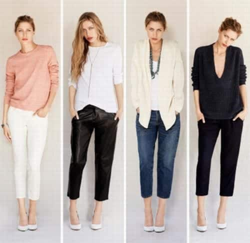 work-style-crop-pants Women Cropped Pants Outfits- 17 Ideas How To Wear Crop Pants