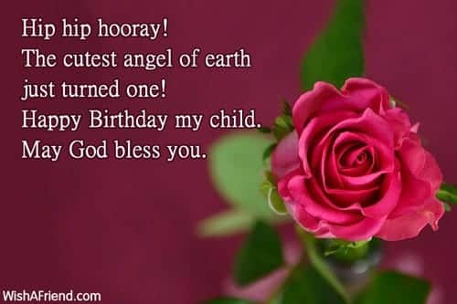 1-year 50 Islamic Birthday and Newborn Baby Wishes Messages & Quotes