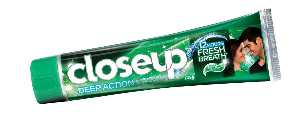 Closeup-Menthol-Fresh-Tube-Cap-1024x430 15 Best Toothpaste Brands in World These Days