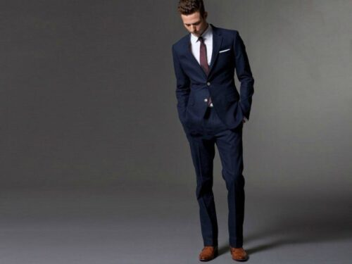 Color-of-Shirt-with-Blue-Shoes-and-Brown-Shoes-500x375 20 Ways to Wear Blue Suits with Brown Shoes Ideas for Men
