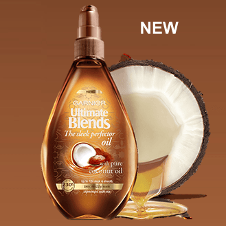FREE-Garnier-Ultimate-Blends-Sleek-Perfector-Oil-Gratisfaction-UK-Freebies Best Hair Oil Brands-15 Top Oil Brands for Hair Growth