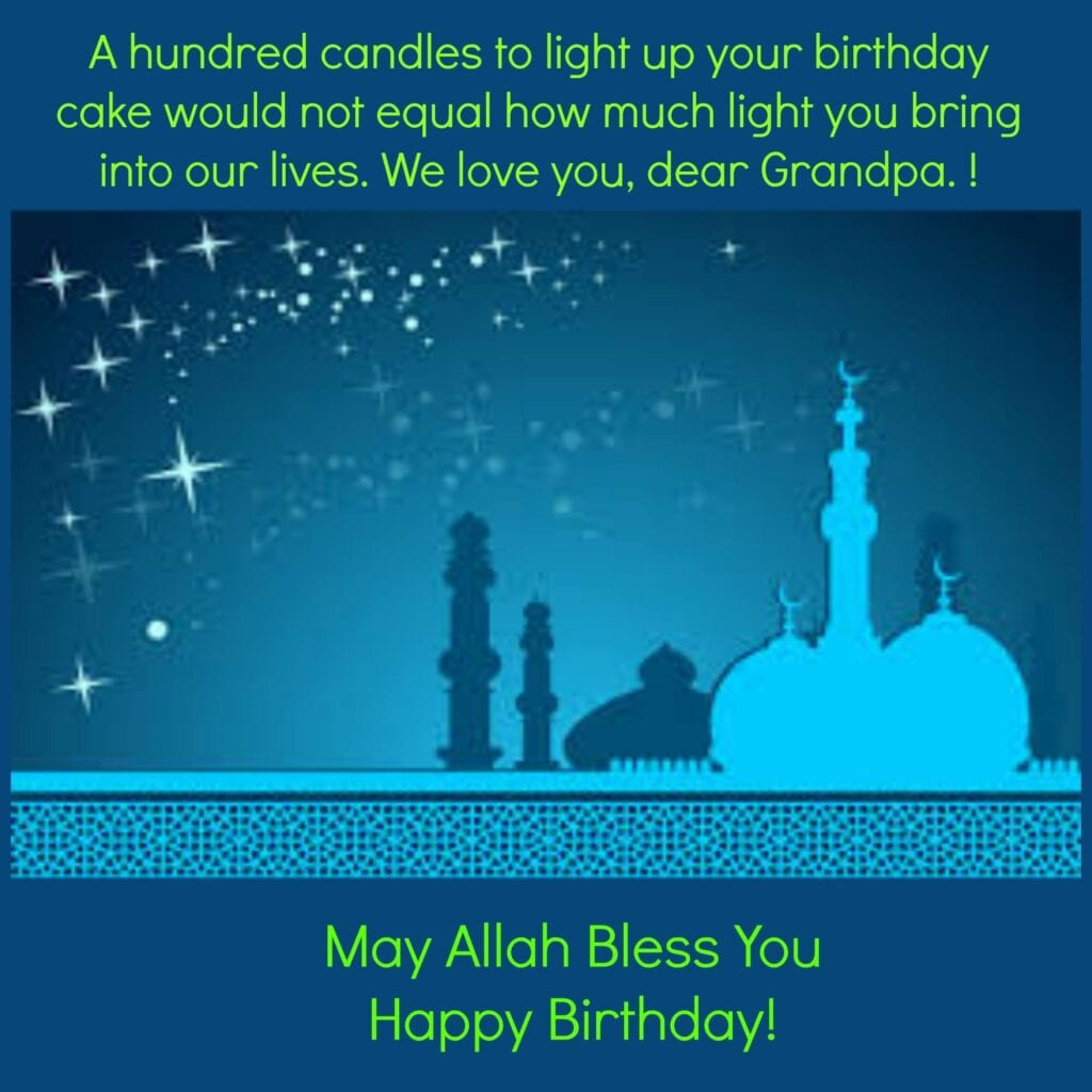 Grandpa-1024x1024 50 Islamic Birthday and Newborn Baby Wishes Messages & Quotes