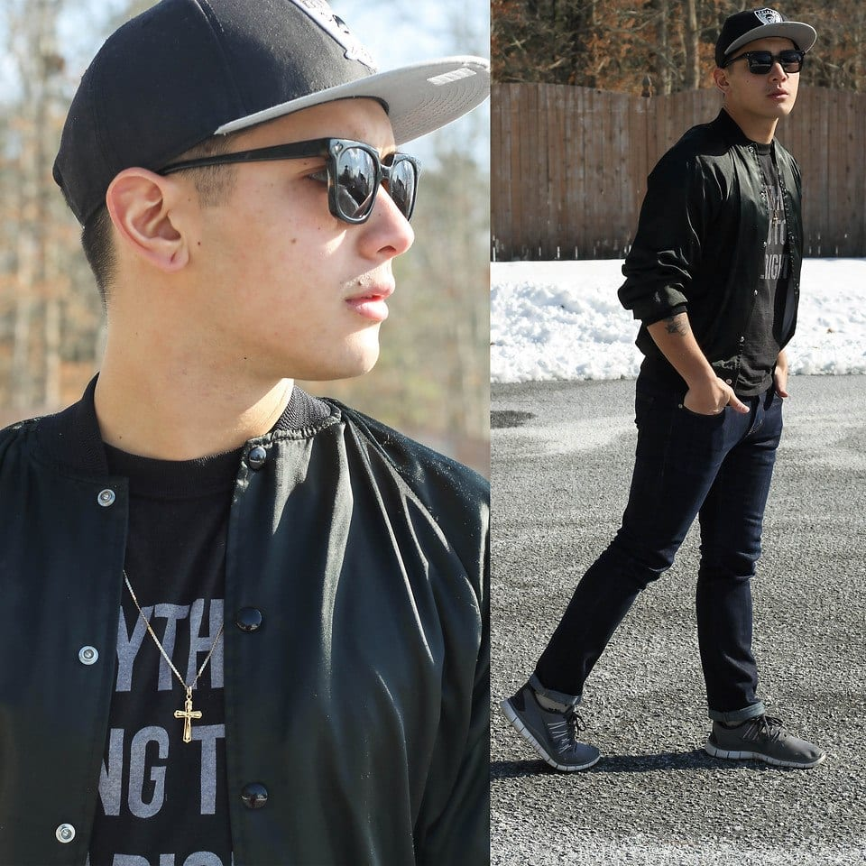 Snapback Hairstyles for Guys-25 Ways to Wear Hair with Snapback