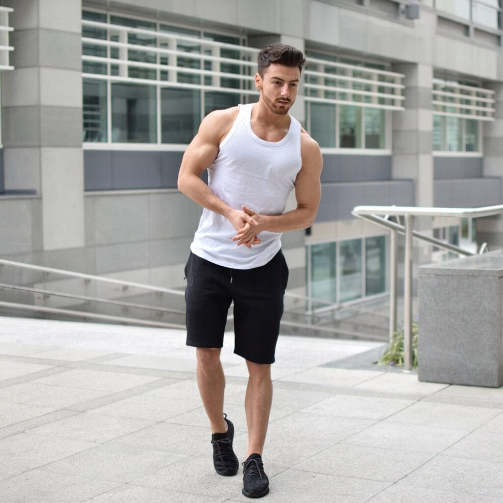 Men's-Gym-Vests-1024x1024 Men's Workout Outfits - 20 Athletic Gym-wear Ideas for Men