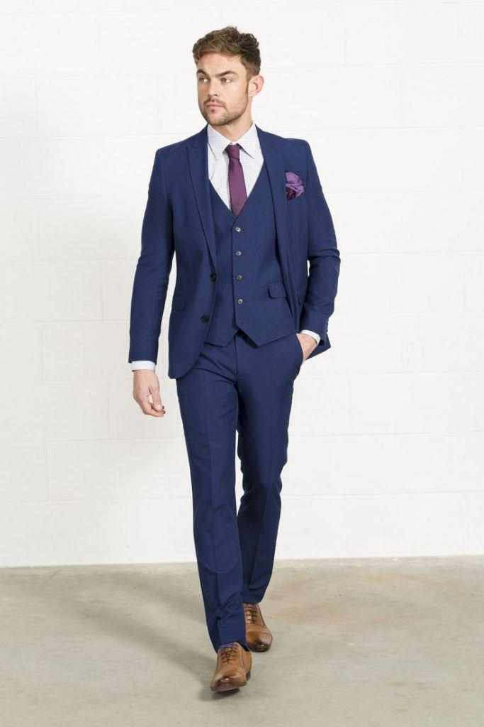 20 Ways to Wear Blue Suits with Brown Shoes Ideas for Men
