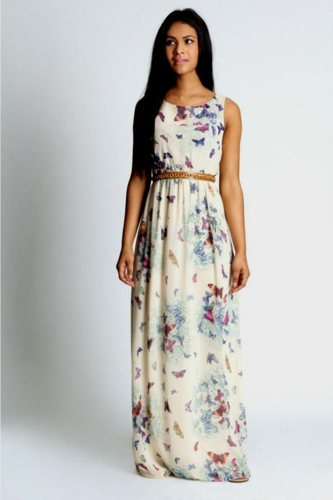 Sleeveless-Maxi-Dress-For-Teenage-Girl-Summer-Fashion Teenage Girls Fashion-20 Outfit Ideas For Teen Girls In Summer