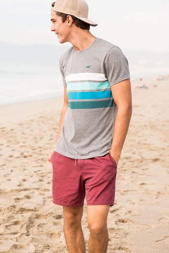 Summer Beach Attire For Boys Teenage Dressing