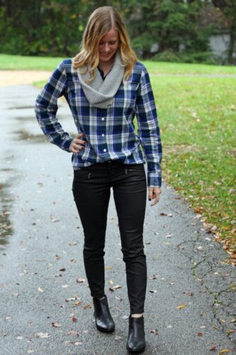 Flannel Outfit Ideas for Women (19)