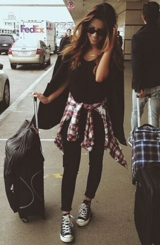 Flannel Outfit Ideas for Women (14)