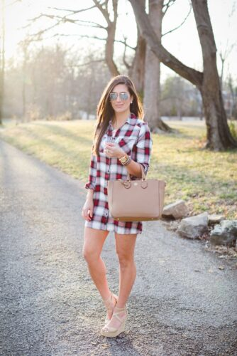 Flannel Outfit Ideas for Women (12)