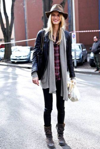 Flannel Outfit Ideas for Women (10)