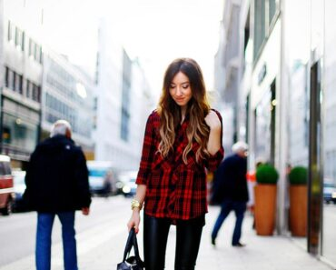 Flannel Outfit Ideas for Women (6)