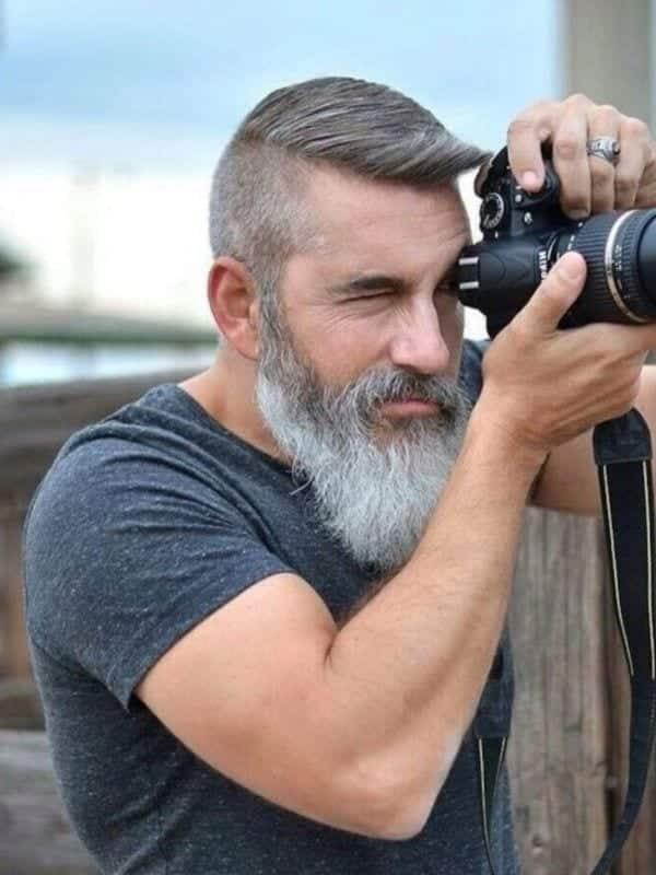grey-beard Beard Styles for Muslims – 20 Recommended Facial Hairstyles for Muslims