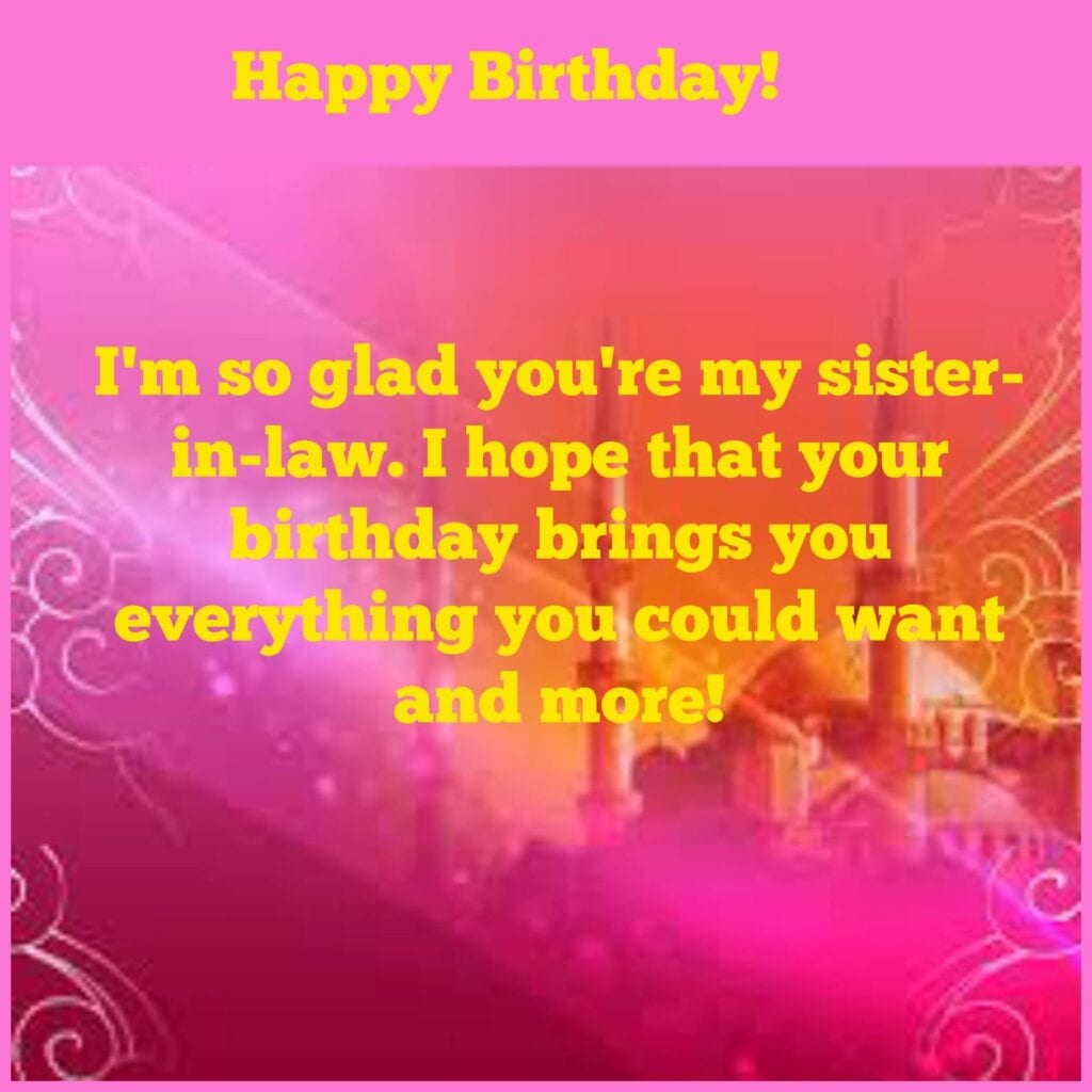 sister-in-law-1024x1024 50 Islamic Birthday and Newborn Baby Wishes Messages & Quotes
