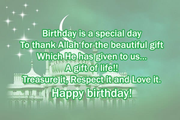 son 50 Islamic Birthday and Newborn Baby Wishes Messages & Quotes