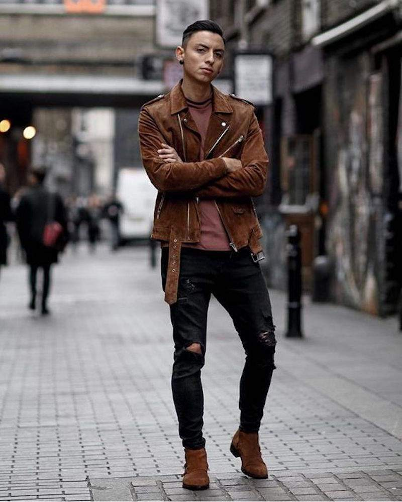 how to wear suede jacket for men (9)