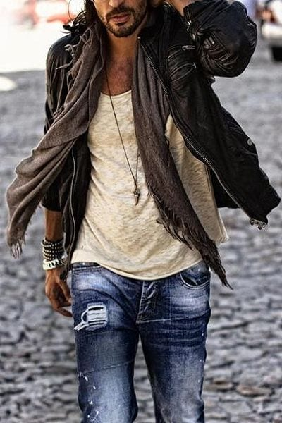 the-basic-colours Bohemian Outfits for Men – 17 Ways to Get Boho Look for Guys
