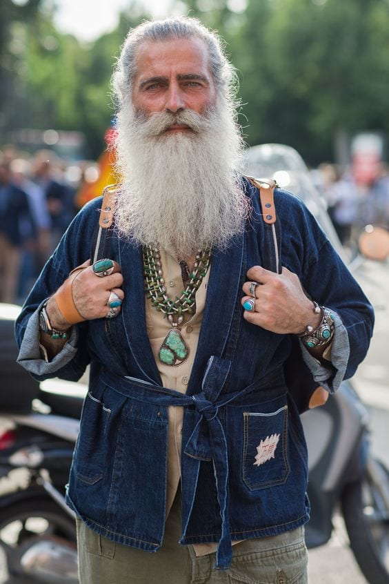 the-old-age-look Bohemian Outfits for Men – 17 Ways to Get Boho Look for Guys