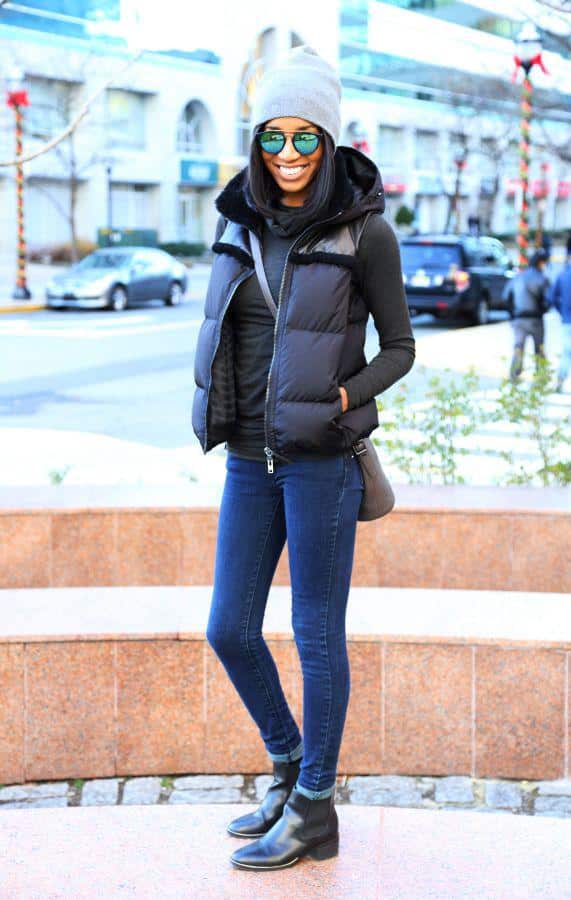 winter-vest What to Wear with a Vest – 20 Best Vest Outfit Ideas for Women