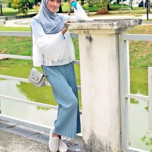 with-hijab-500x500 Top 20 Ways to Style Palazzo Pants with Sneakers for Women