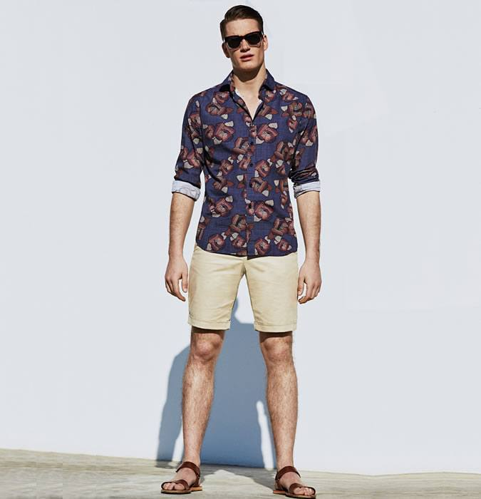 how to wear a floral shirt outfit for men (2)