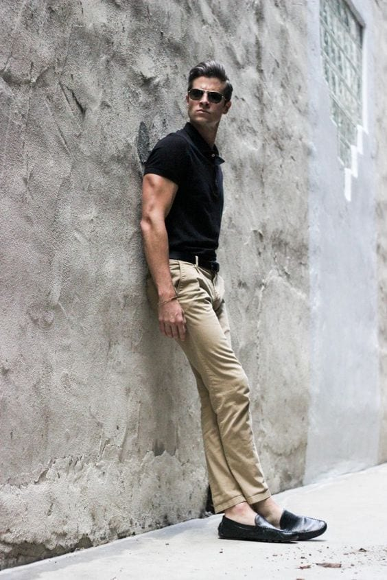 Khaki Pants Outfits-20 Ideas What to Wear with Men's Khaki Pants