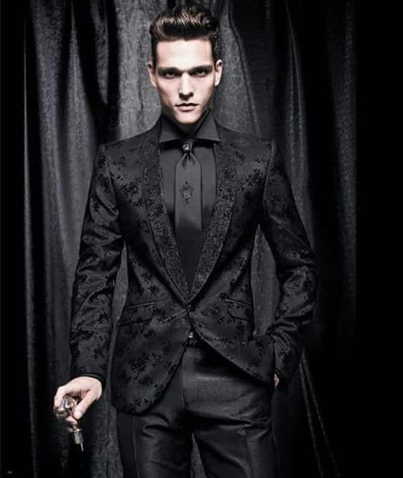 Gentleman-look Goth Outfits for Guys- 20 ideas How to Get Goth Look for Men