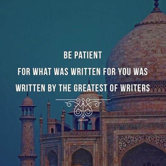 Islamic-Quote-About-The-virtue-Of-PAtience Islamic Quotes About Patience-20 Quotes Described With Essence