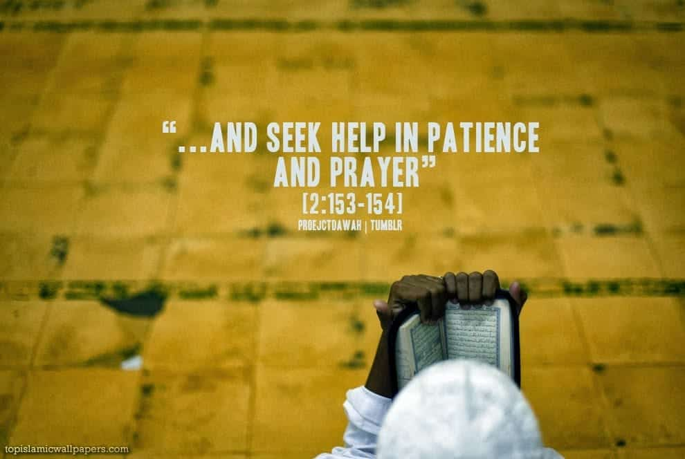Islamic-Quotes-About-Patience-And-Prayer Islamic Quotes About Patience-20 Quotes Described With Essence