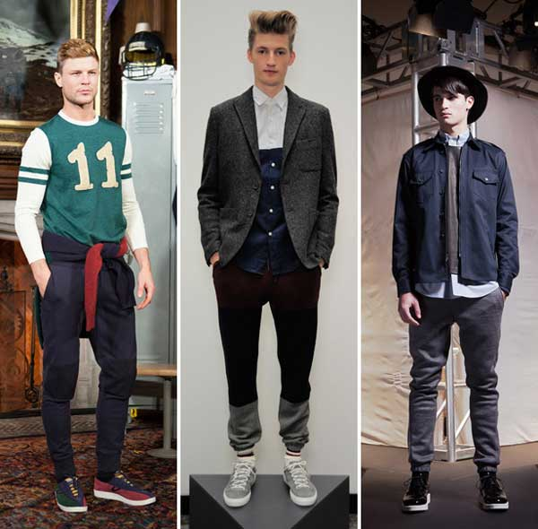 Party-Outfit-With-Sweatpants-And-Sneakers Men's Sweatpants Shoes-20 Shoes To Wear With Guys Sweatpants