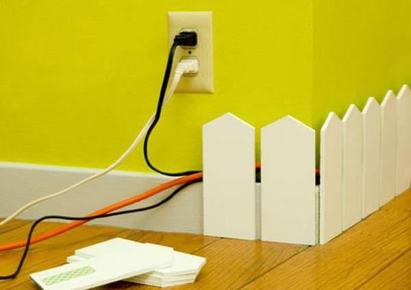 Tiny-fence-cords Hacks for Home Decor- 25 Cheap DIY Home Decor Projects