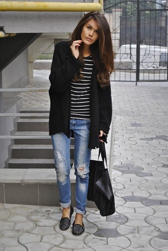 black 20 Best Pinroll Jeans Outfits for Women– How to Pin Roll Jeans