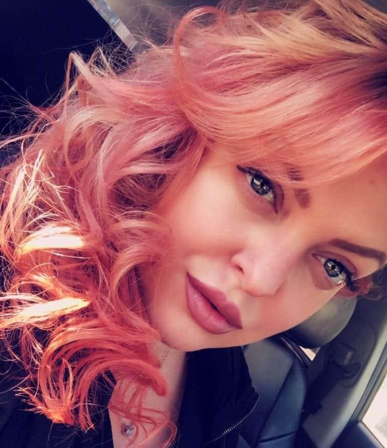 blorange-hair-bangs 30 Cutest Blorange Hair Color, Cut & Styling Ideas for Girls