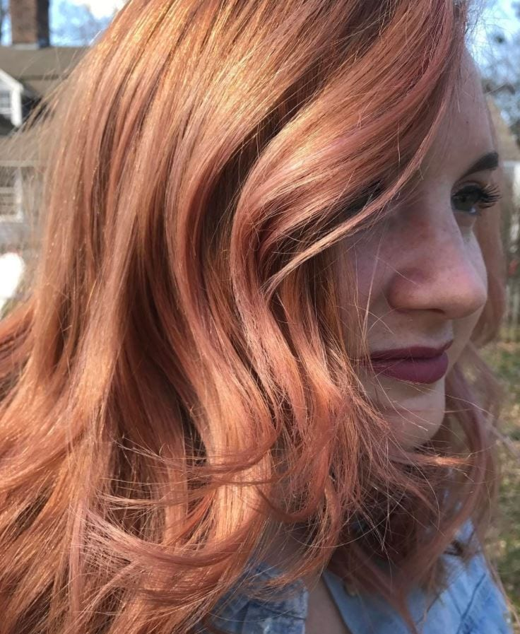 blorange-hair-extensions 30 Cutest Blorange Hair Color, Cut & Styling Ideas for Girls
