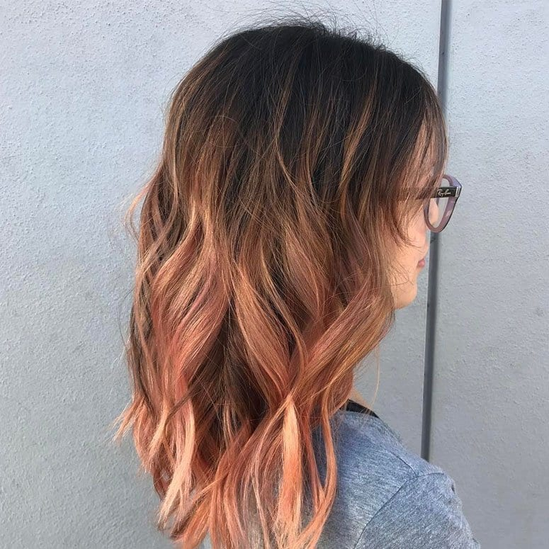 blorange-hair-ombre 30 Cutest Blorange Hair Color, Cut & Styling Ideas for Girls