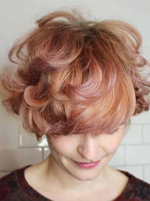 blorange-hair-pixie-cut 30 Cutest Blorange Hair Color, Cut & Styling Ideas for Girls