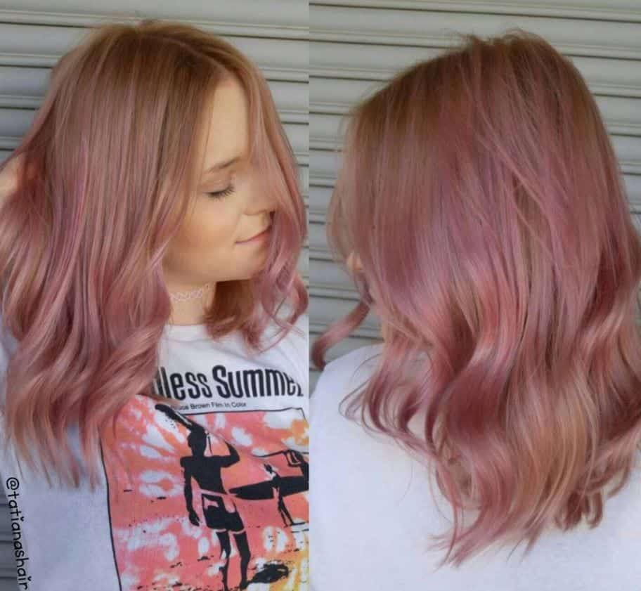 blorange-pink-hair 30 Cutest Blorange Hair Color, Cut & Styling Ideas for Girls