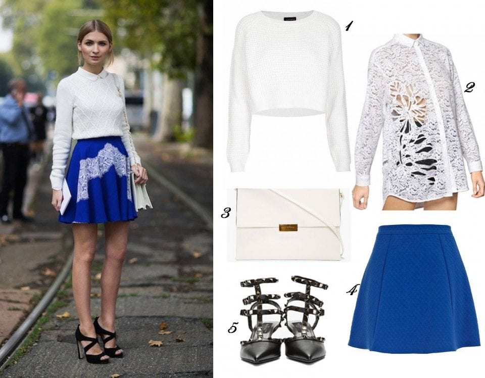 how to wear cobalt blue skirts (17)
