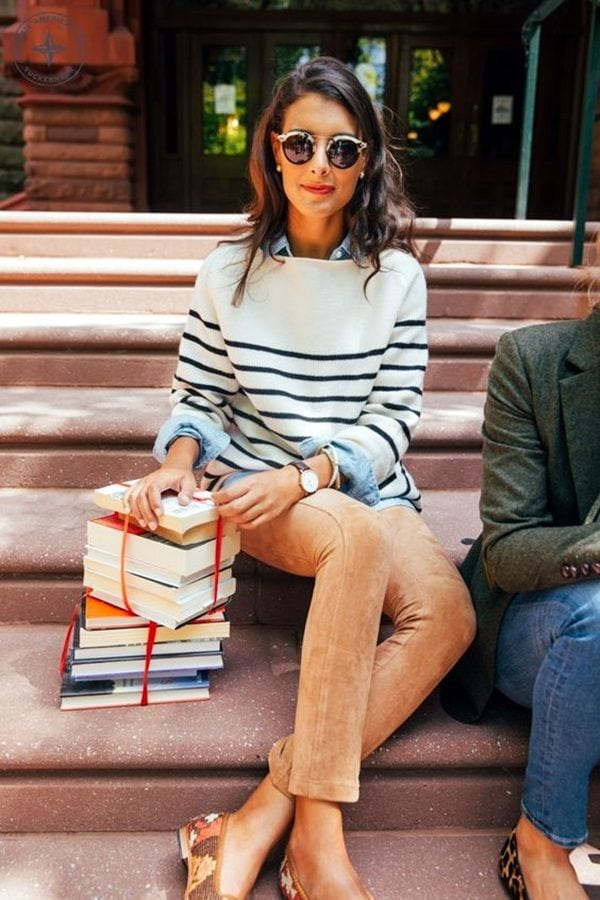 college-preppy-outfit-1 College Girls Dressing–18 Ideas & Tips to Dress Well in College