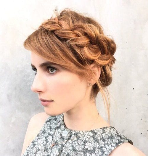 emma-roberts-2 20 Best College Hairstyles for Girls with Medium Length Hair