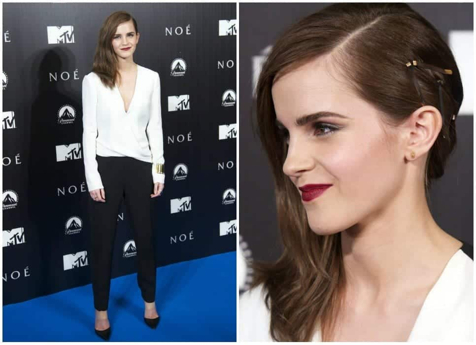 emma-watson-3 20 Best College Hairstyles for Girls with Medium Length Hair