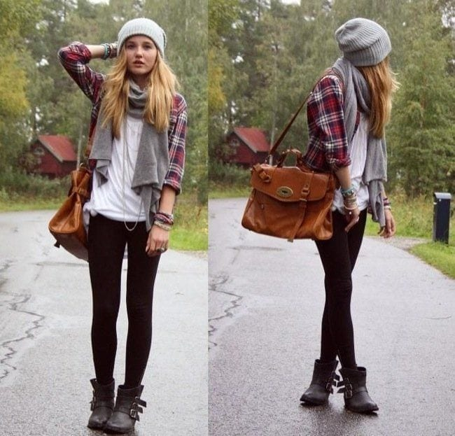 flannel-shirt-outfit College Girls Dressing–18 Ideas & Tips to Dress Well in College