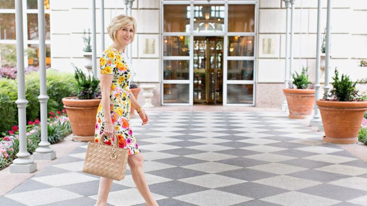 floral-dress 30 Best Summer Outfits for Women Above 50 - Style Tips
