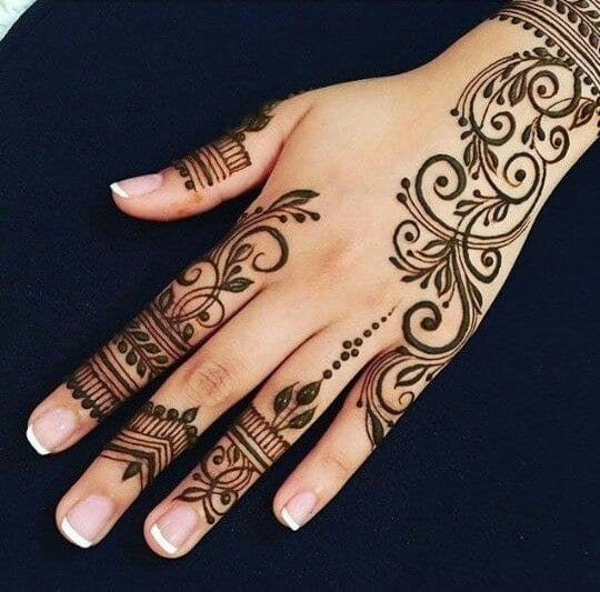 latest henna tattoo ideas (31)