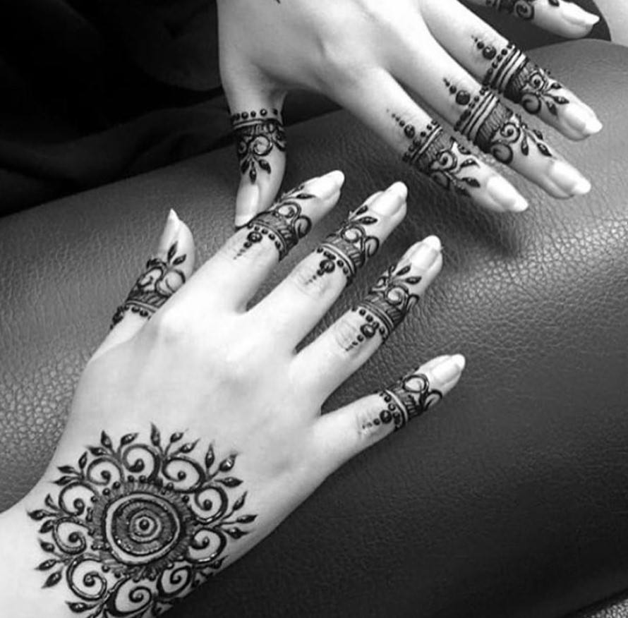latest henna tattoo ideas (26)