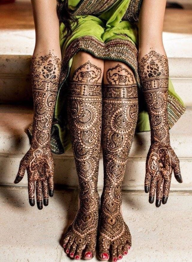 latest henna tattoo ideas (24)