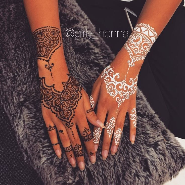 latest henna tattoo ideas (21)